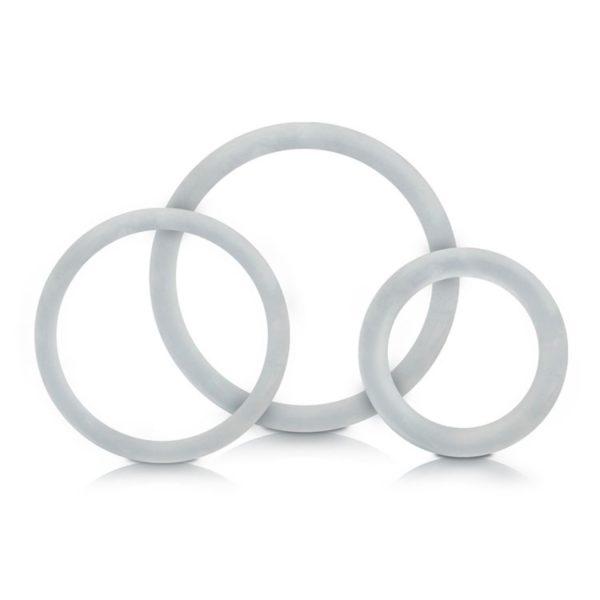 Kit de Anéis Peniano Transparente