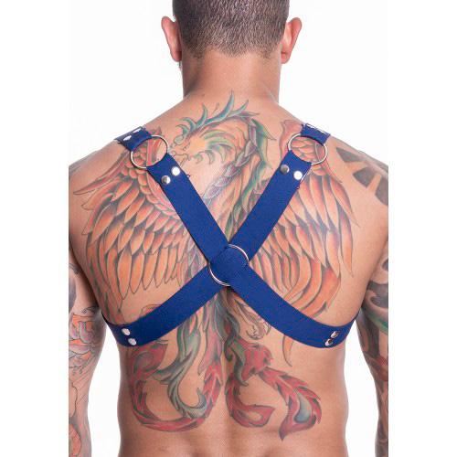 Harness Arreio Masculino Azul
